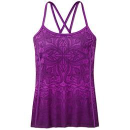 Printed harmonious cami the lightweight sleek wicking support top