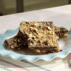 Chocolate Pistachio Brittle Recipe | desserts | Pinterest