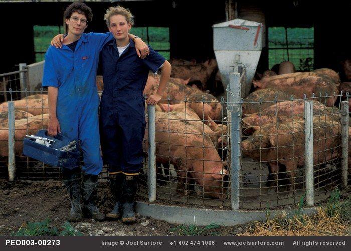 Pig farmers daughter