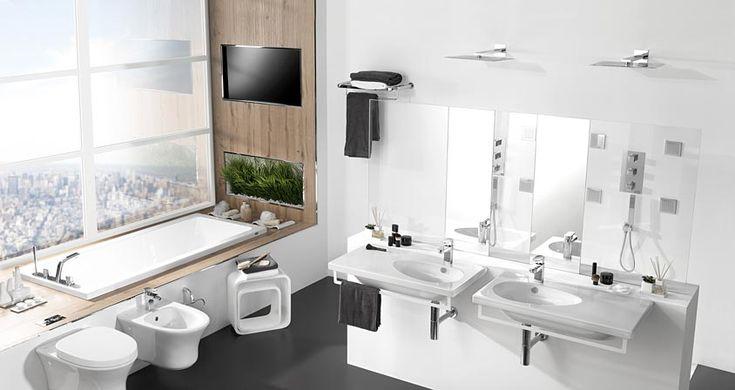 Muebles De Baño Porcelanosa:PORCELANOSA Bathroom Design White