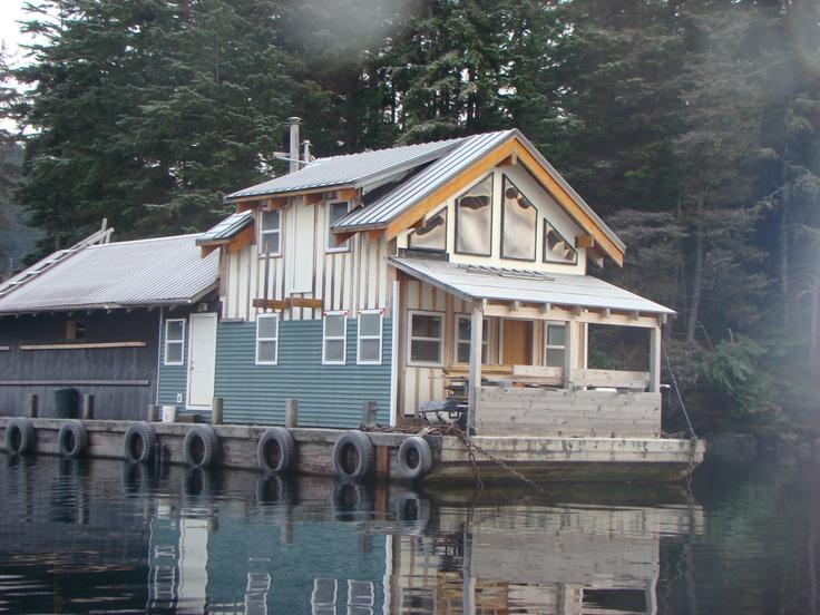 Alaska Float House Floating Homes Pinterest