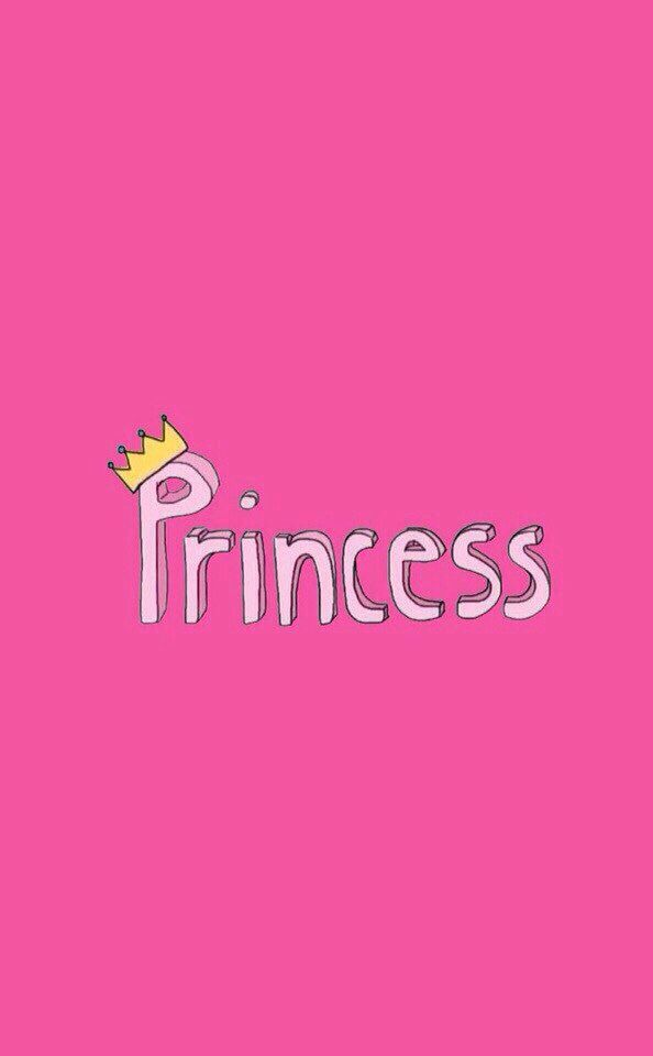 Pink princess wallpaper