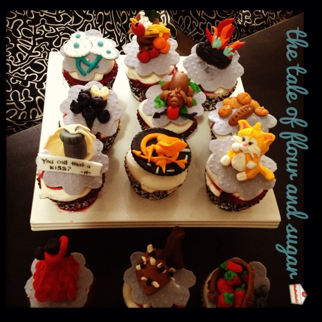 games cupcakes! Flavor: mixed berries Cheese cake with sour cream ...