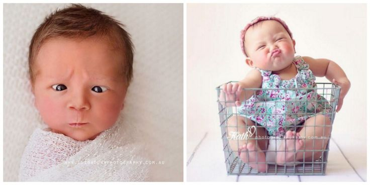 These 18 Newborn Babies Making Funny Faces Will Fill Your Heart With Joy