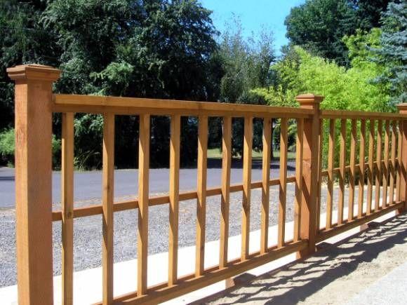Nice short fence option bartt pinterest for Short fence ideas