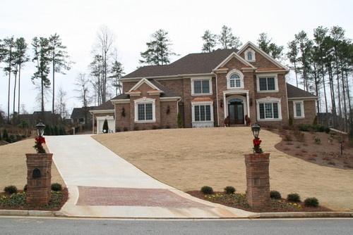 Beautiful Homes Built Traditional Exterior Atlanta By Atlantic