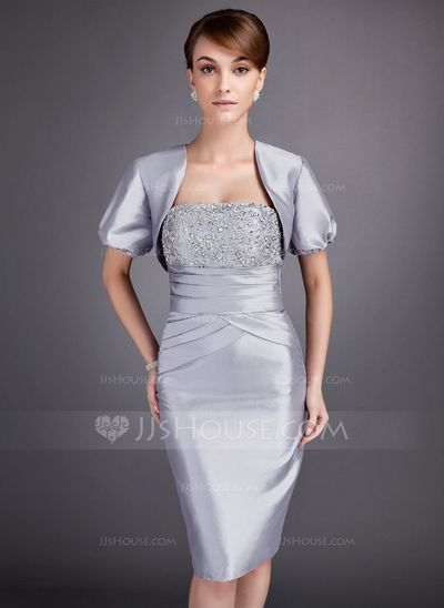 . Mother of the Bride Dresses - $99.99 - Sheath Strapless Knee-Length