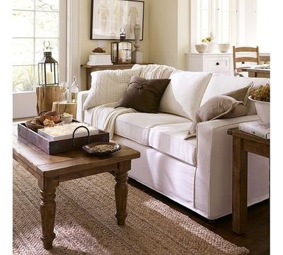 Living Room on Comfy Living Room   White Picket Fence