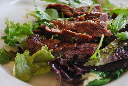 Ginger Steak Salad - your homebased mom