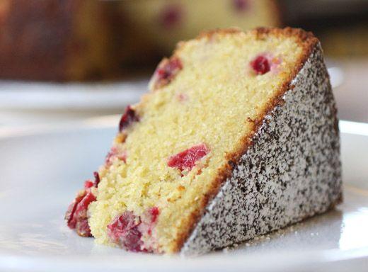 lisa is cooking: Cranberry Orange Cornmeal Cake