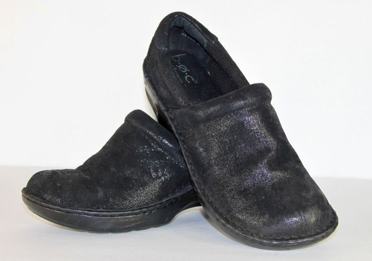 Black Slip On Shoes Womens