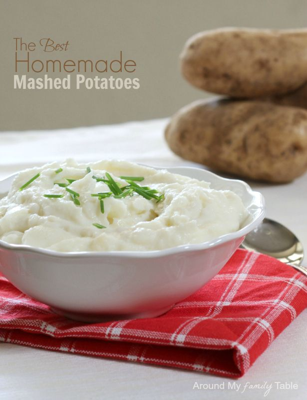 The Best Homemade Mashed Potatoes | Recipe