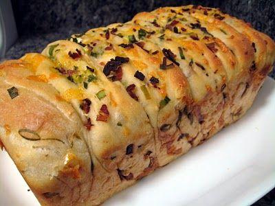 My Food Affair: Bacon, scallion and cheese bread! yum!