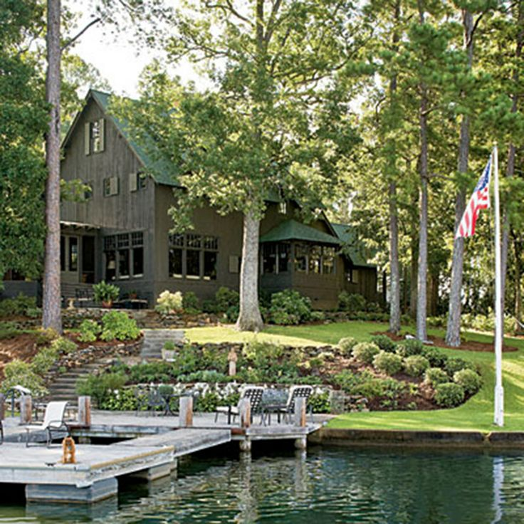 Naturally Inspired Georgia Lake House