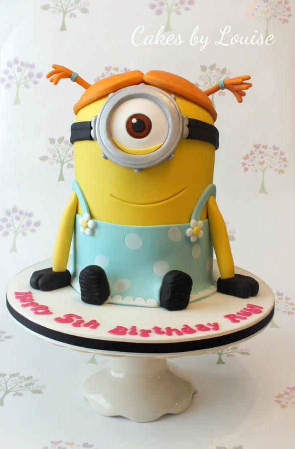 Minion Girl Cakes Pinterest