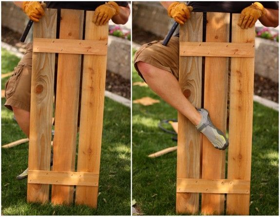 Make your own wood shutters diy crafts pinterest for Make your own shutters