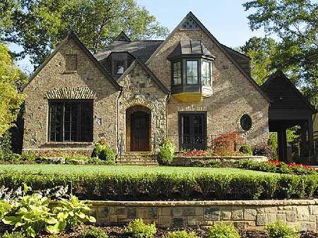 English manor for English house plans