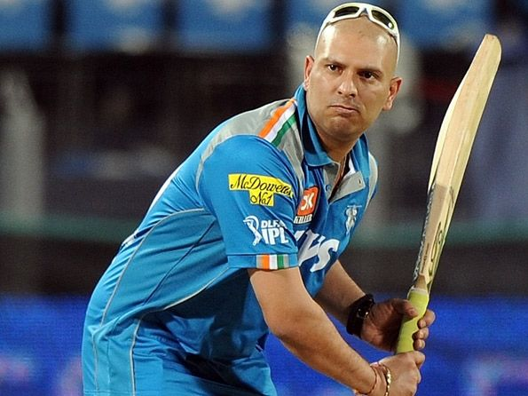 """Yuvraj Singh eyes early comeback post cancer treatment : Chandigarh: May 16, 2012     Middle-order batsman Yuvraj Singh, who has been forced out of action for the past few months following a rare germ cell cancer between his lungs, said he is eyeing a comeback by September this year.     """"Hopefully, I should be back (in action) very soon. May be by next 3-4 months,"""" said Yuvraj."""