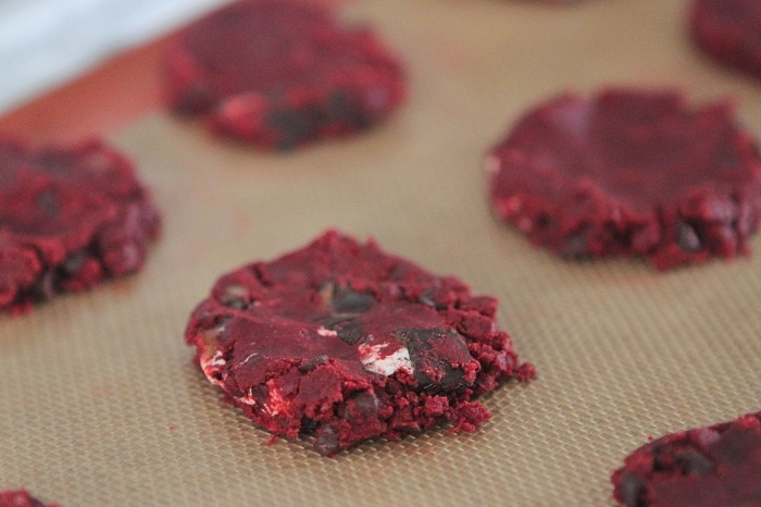 Red Velvet Milky Way Cake Cookies | Recipe