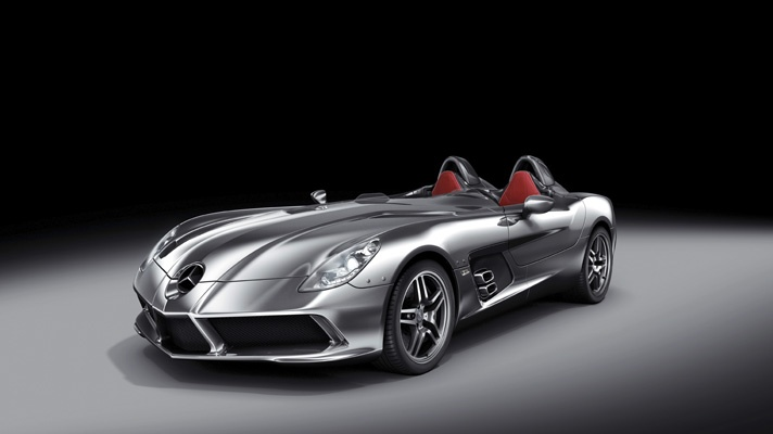 McLaren SLR Stirling Moss ~ TG's 50 Shades of Grey - BBC Top Gear