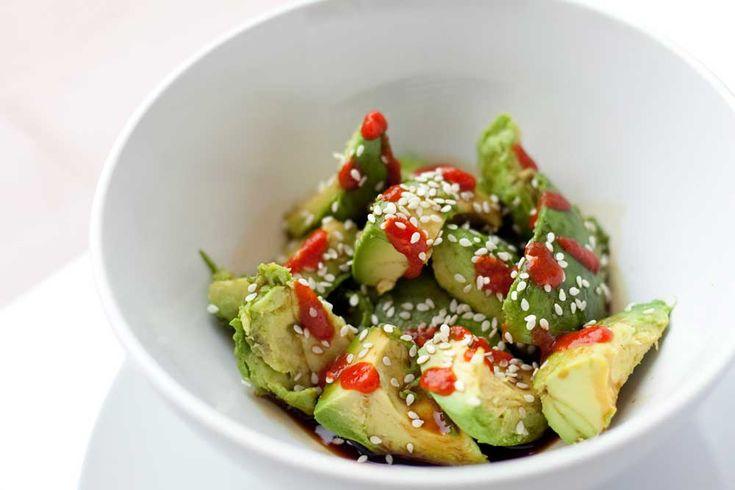 Sesame-Sriracha Avocado Bowl | Food, Recipes & Chefs - The Dish ...