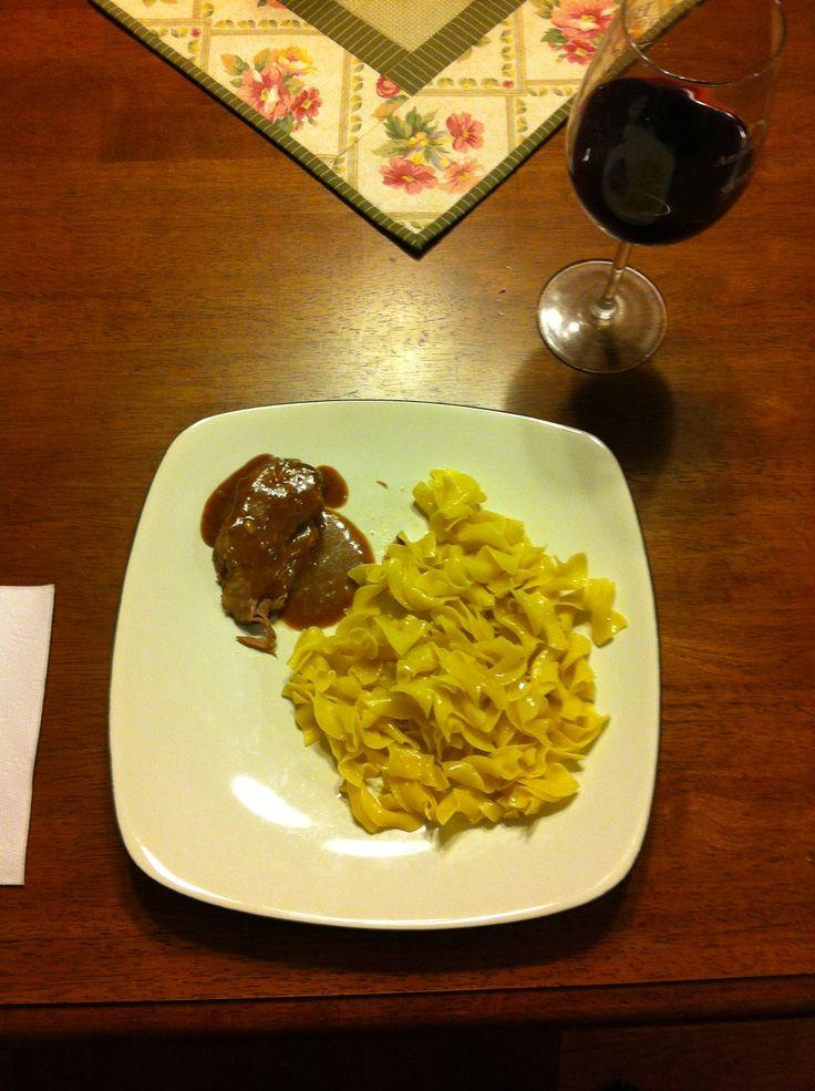 Crock Pot Balsamic & Onion Roast | Crock pot | Pinterest
