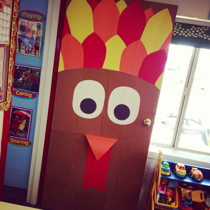 Classroom Door Decoration Ideas For November ~ Quot turkey november classroom door my very own