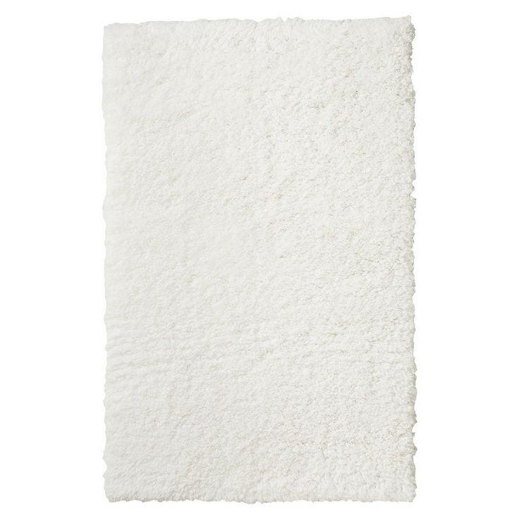 xhilaration shag accent rug cream 2 39 6 x4 39
