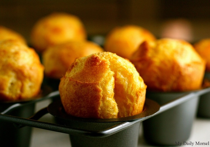 Popovers with Strawberry Butter | Baking - Recipes & Tips | Pinterest