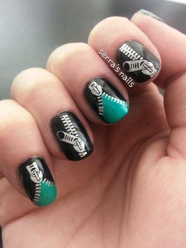 Nail Designs Zipper Nail Art Designs