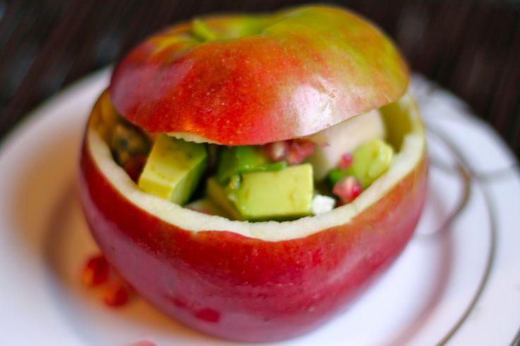 ... crab salad crab salad with endive crab apple pomegranate salad