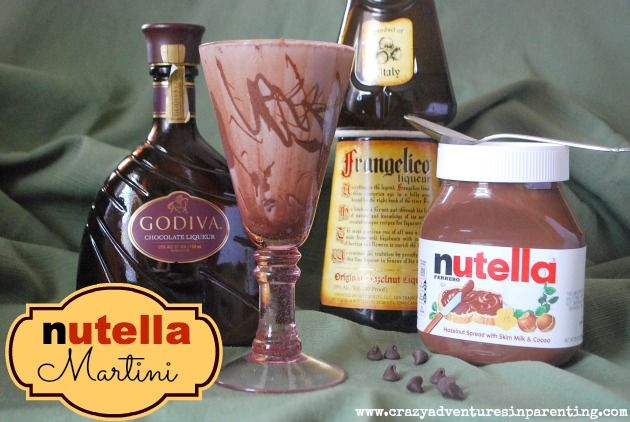 Nutella Champagne Shooter Recipes — Dishmaps