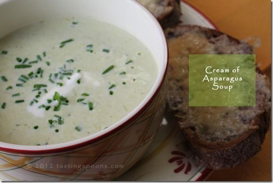 Cream of Asparagus Soup | Soups, Stews and Sauces | Pinterest