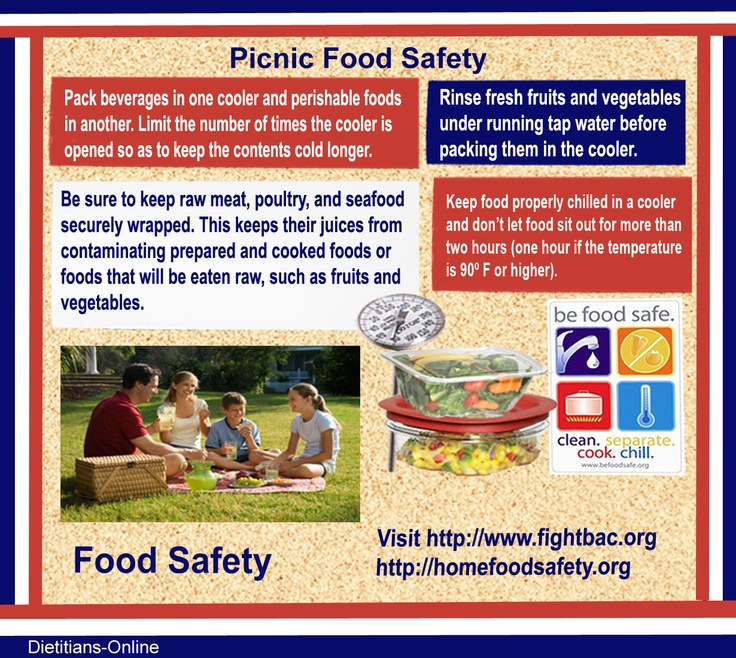 memorial day food safety
