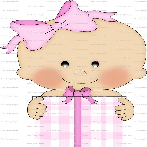 Birthday Babies Girl Clip Art Digital Image by MiEmbroideryDesigns, $1 ...