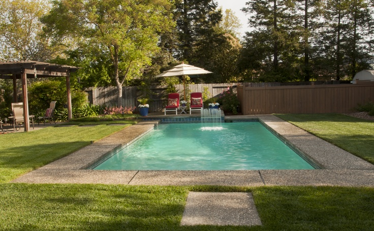 Pin by premier pools and spas of st louis on finished for Premier pools