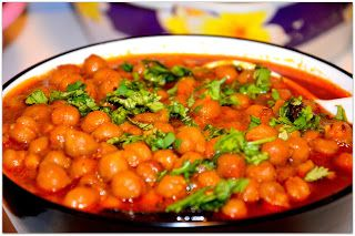 Channa Masala/Chole/Chickpea Curry | Vegan Indian and Curry Flavored ...