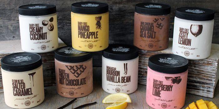 Fiasco Artisan Gelato Ice Cream Labels Packaging