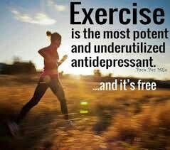 #Exercise is the most potent and underutilized antidepressant...and it's free