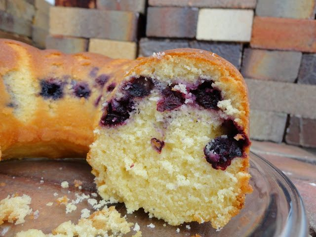 Blueberry Lemon Bundt Cake | Naughty Cakes :) | Pinterest