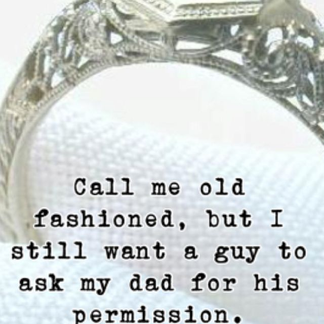 Old fashioned.