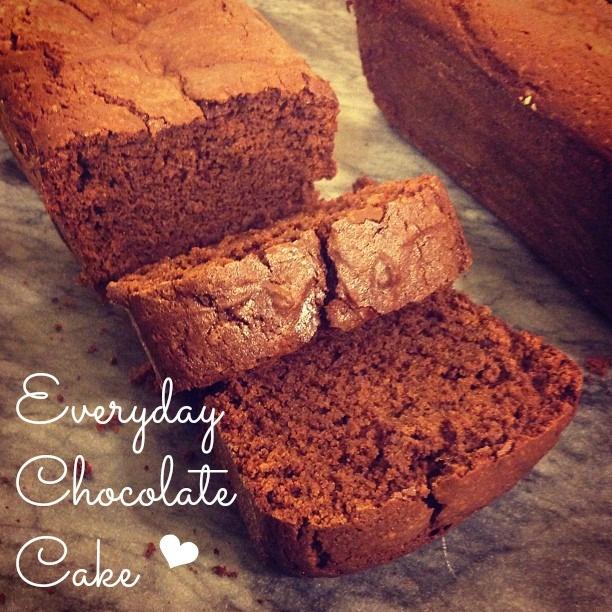 Everyday Chocolate Cake | Sweet Treats | Pinterest