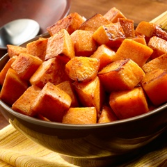 Cinnamon Roasted Sweet Potatoes | Dips and Sides | Pinterest