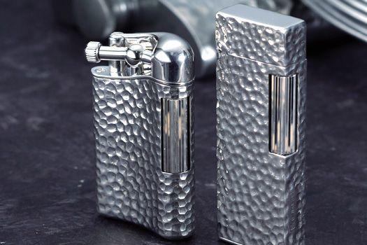 ... シリーズ /SAROME PSD12 PSD9 hammer tone silver925 lighters