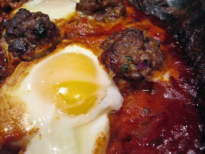 Kefta Tagine Bil Beid (Moroccan Meatball Tagine With Tomato & Eggs ...