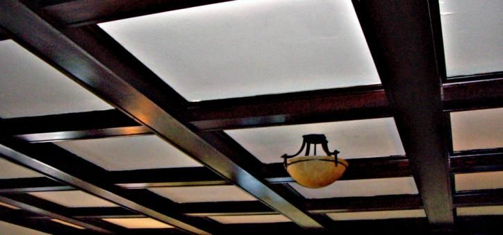 Pin by michael buragas on home ideas pinterest for Box beam ceiling