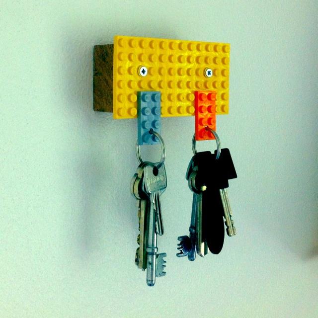 Lego Key Holder Diy Crafts Pinterest