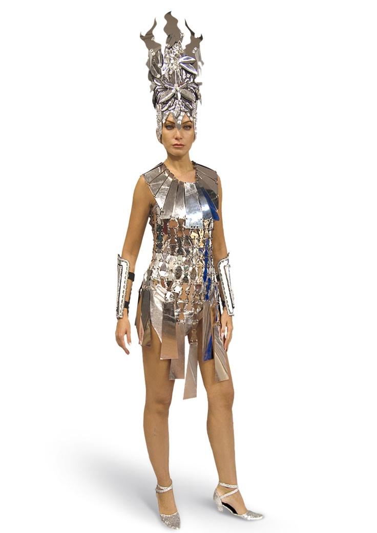 Космический костюм для девушки своими руками 95