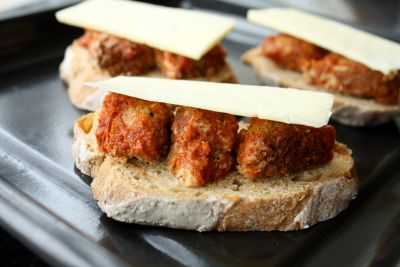 ... like this: meatball sandwiches , sandwiches and sandwich appetizers