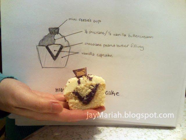 Moose Tracks Inspired Cupcakes | Samuel MOOSE be turning 2! | Pintere ...